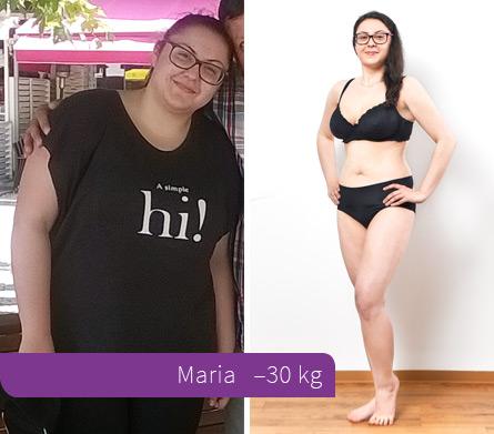 Verlieren Sie 30 Kilo in 4 Monaten der Schwangerschaft